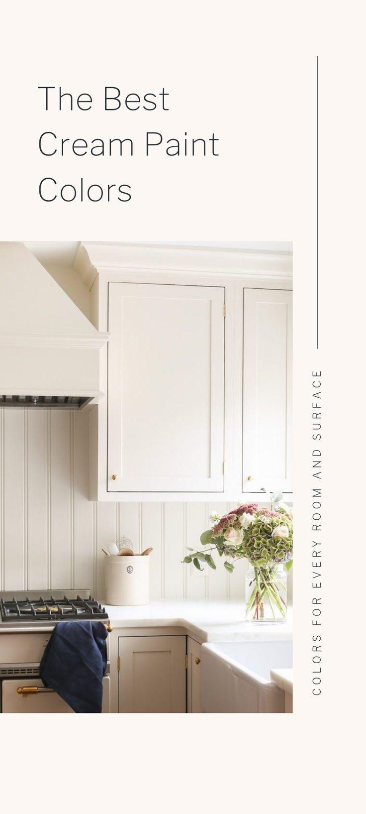 the best cream paint colors cream color paint is a warm neutral wall rh pinterest com  best neutral color to paint a bedroom