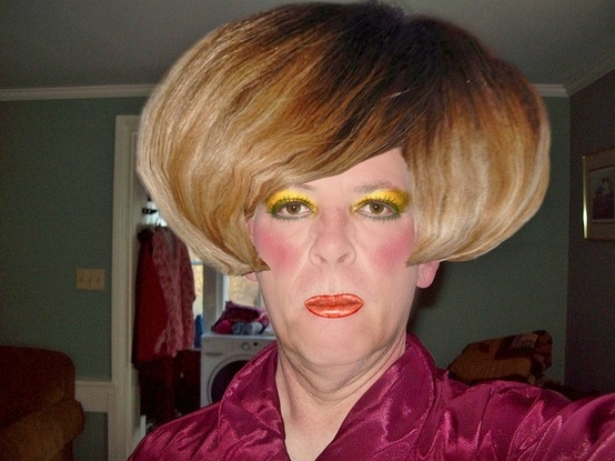 Hair Don't z: Gotta a be a drag queen with a really bad ...