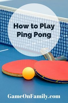 no game room is complete without ping pong aka table tennis learn rh pinterest co uk