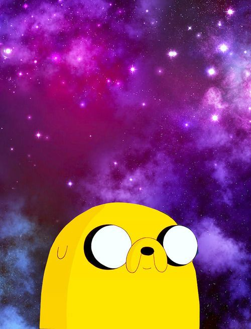 Jake the dogs galaxies cartoon adventure time wallpaper adventure