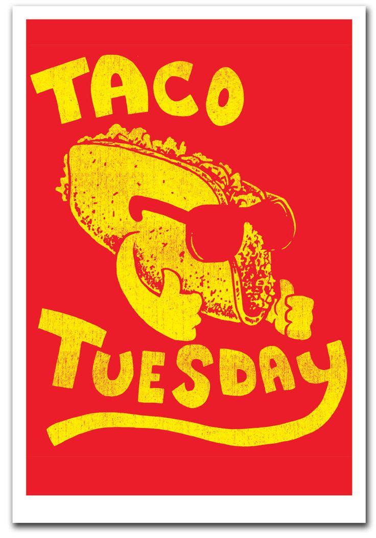 Taco Tuesday - Art Print