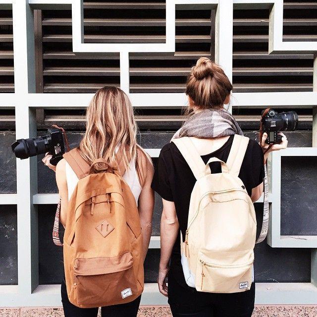 MOCHILAS HERSCHEL Tendência de acessório lindo de viver: as mochilas mais cool dos últimos tempos <3