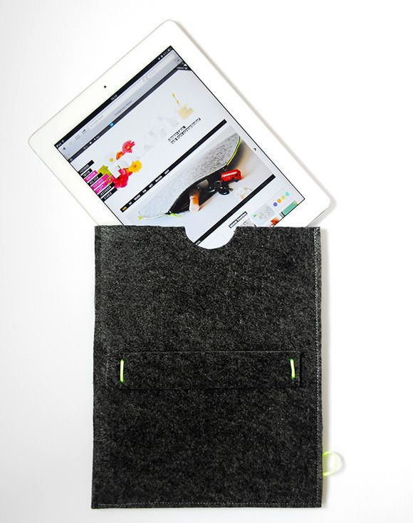 Make A Felt iPad Sleeve In 10 Minutes By Funky Time