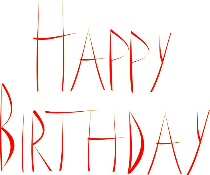 happy birthday png | free printable Happy Birthday cards – free Happy Birthday word art ...