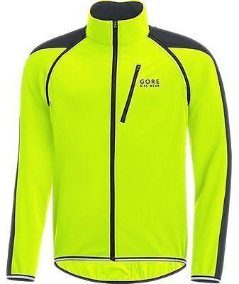 Gore Bike Wear Phantom Plus Gore Windstopper Zip-Off Jacket Neon Yellow/Black M