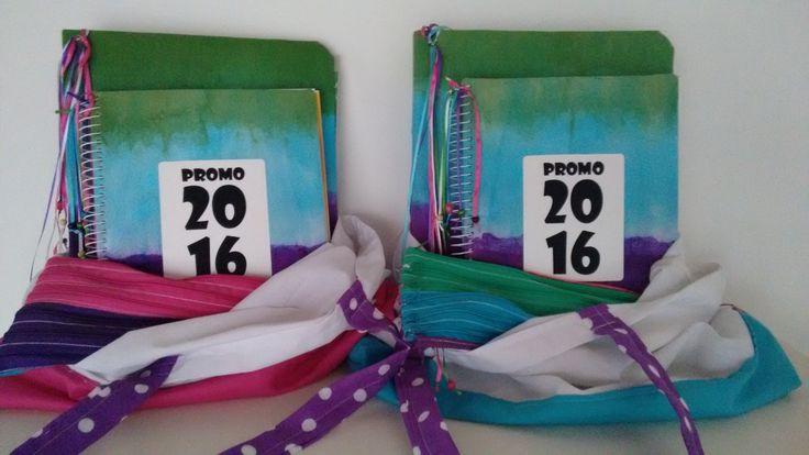 Kit escolar para las chicas de la promo! (cartuchera,caratulas, carpeta, cuadernillo)