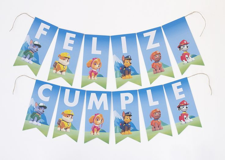 Little Wish Parties | Paw Patrol Party with free printables | https://littlewishparties.com