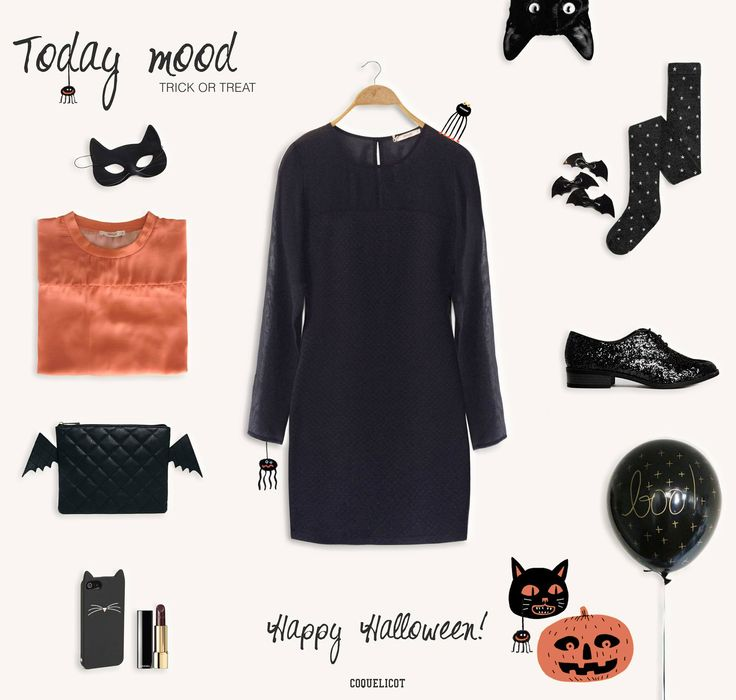 Today Mood | Trick or treat  #coquelicot_woman #Fall14 #Halloween  https://www.facebook.com/coquelicot.fans