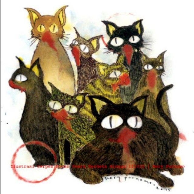 """Kucing-kucing yang Membongkar Kuburan"" merupakan"