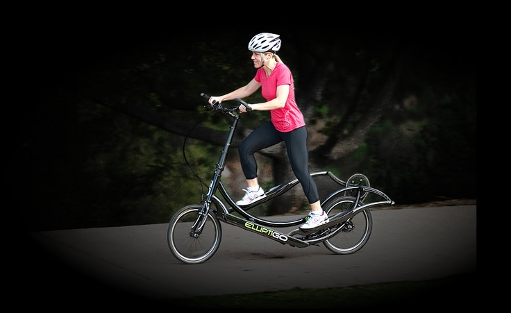 The Eliptigo--part bike, part eliptical. @Jane Wang, wouldn't this be incredible? health