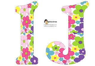 EUGENIA - KATIA ARTES - BLOG DE LETRAS PERSONALIZADAS E ALGUMAS COISINHAS: Alfabeto florsinhas