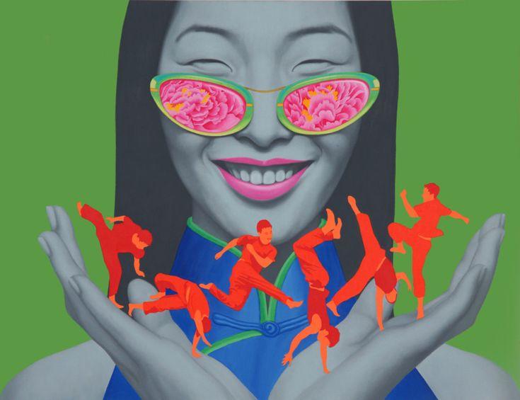 许德奇 Chinese contemporary oil painting