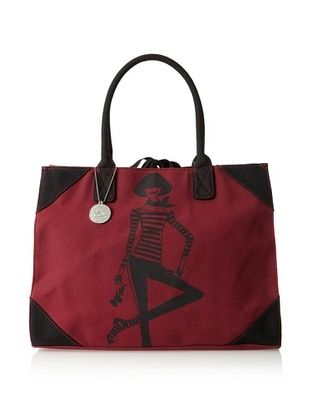 40% OFF Izak Women's Girl East/West Tote, Burgundy