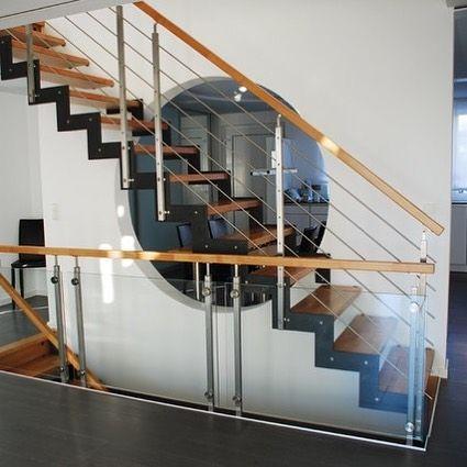 Die besten 25+ Stahltreppe design Ideen auf Pinterest - exklusives treppen design
