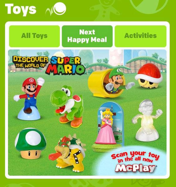 New round of Super Mario toys heading to McDonald's Happy Meals   Japan got them as did our friends in the UK. Now it's finally time to grab them at a McDonald's location in the states! Seems like a great time for them to be releasing here as well. Thanks to Nightram for the heads up!  from GoNintendo Video Games