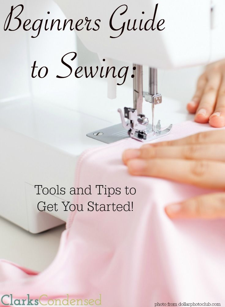 Do you want to learn to sew? Here are a few things to make your life a little bit easier and get started on the right foot!