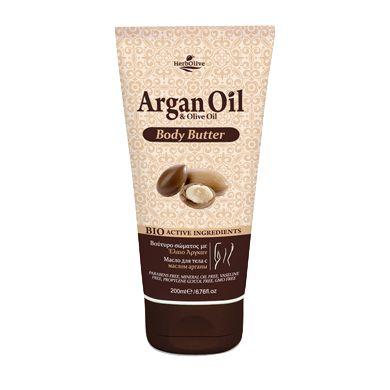 HerbOlive Argan Oil & Olive Oil Body Butter 200ml/6.76oz