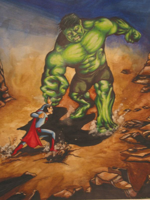 1000+ images about Superman vs. Hulk on Pinterest ...