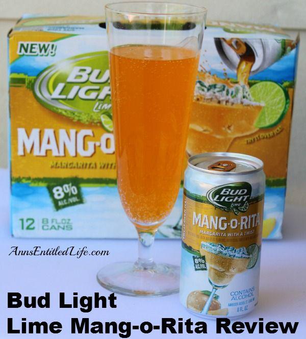 Bud Light Lime Mang-o-Rita Review -  My review of the Bud Light Lime Mang-o-Rita brewed by Anheuser-Busch InBev. http://www.annsentitledlife.com/wine-and-liquor/bud-light-lime-mang-o-rita-review/