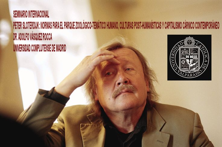 """sloterdijk  -    peter sloterdijk     Vásquez Rocca, Adolfo, """"En torno al diseño de lo humano en Sloterdijk: De la ontotecnología a las fuentes filosóficas del posthumanismo"""", En La lámpara de Diógenes,  Revista de Filosofía, BUAP, Año 13, Números 24 y 25, Vol. 13 – enero-junio 2012  –  julio-diciembre 2012, pp. 127 – 140  http://www.ldiogenes.buap.mx/revistas/24/127.pdf"""