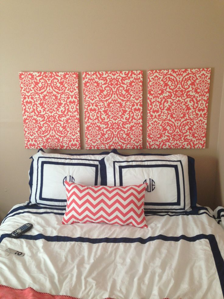 Perfect Best 20+ Fabric Covered Canvas Ideas On Pinterest | Fabric Wall Art, Pin  Boards And Burlap Board