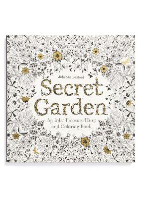Secret Garden Adult Colouring Book