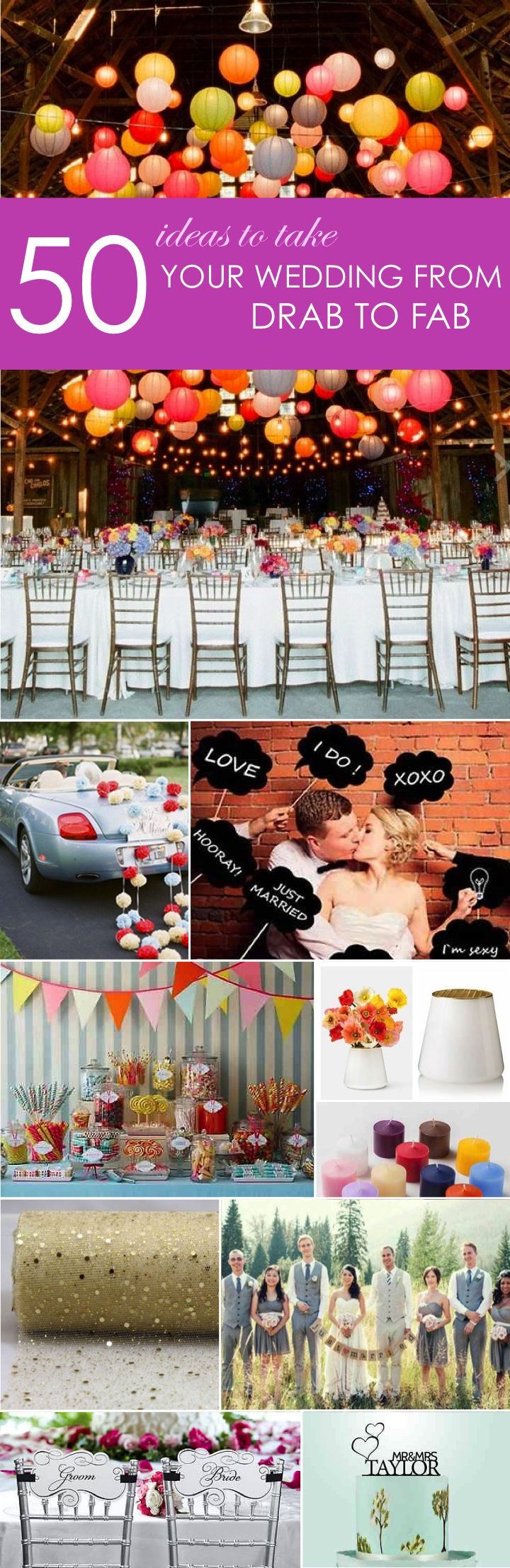 50 Ideas to take your wedding from drab to fab! http://www.ebay.com/gds/50-Ideas-to-Take-Your-Wedding-From-Drab-to-Fab-/10000000204629874/g.html?roken2=ti.pQ3Jpc3N5IEFycGllIE90dA==
