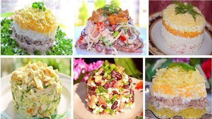 """Echipa Bucătarul.euvă oferă 6 rețete delicioase de salate pentru masa de sărbătoare. Salate sunt nu doar gustoase, ci și foarte frumoase și apetisante. Salatele se prepară simplu și rapid, arată deosebit, sunt foarte consistente și savuroase și pot satisface chiar și cele mai rafinate gusturi. Decorați masa festivă cu aceste salate extraordinare și creați impresii delicioase! 1. Salată """"Cadou"""" INGREDIENTE -1 piept de pui fiert -ciuperci -1 ceapă -1 morcov fiert -1 măr -un pumn de nuci -ouă…"""