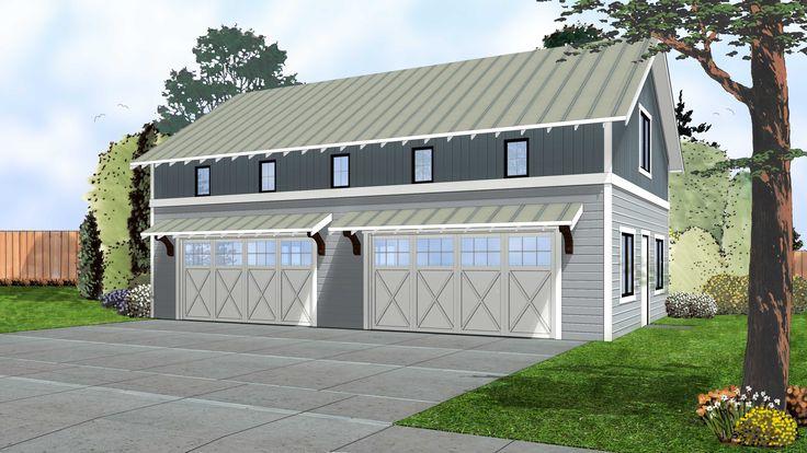 Plan 62593dj 4 car garage with indoor basketball court for How to build an indoor basketball court