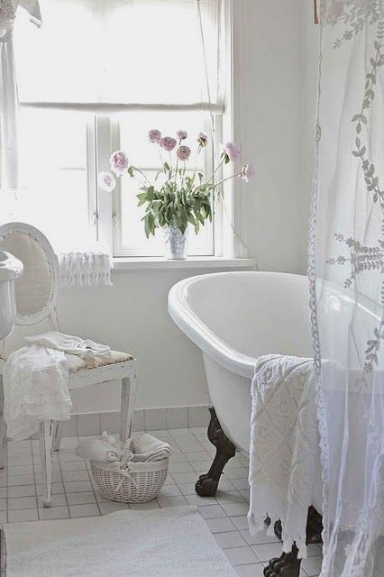 12 easy shabby chic style bathroom designs to consider for your spa rh pinterest com