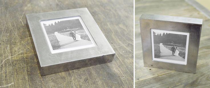 Необычная мебель в стиле лофт: рамка для фото или зеркала из металла