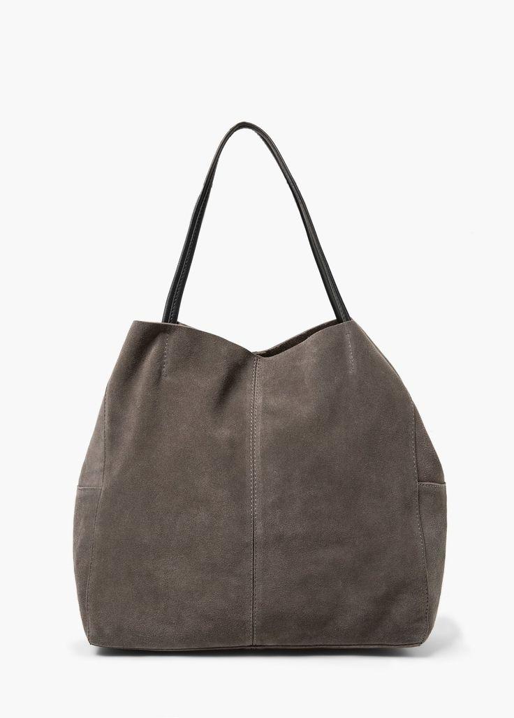 Sac shopper - Vestes pour Femme | MANGO