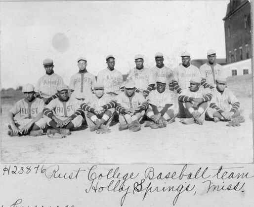 Rust College baseball team