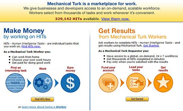 I've Made $20,000 Through Amazon's Mechanical Turk