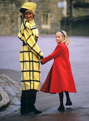 Philip Somerville's turban hat and matching Escada coat, designed for trip to Berlin, 1987