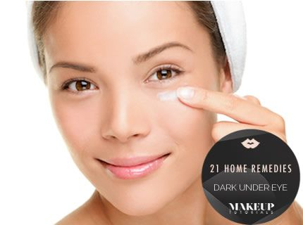 21 Home Remedies For Dark Under Eye Circles | Natural beauty tips, makeup tips, and how to be beautiful at Makeup Tutorials. | #makeuptutorials | makeuptutorials.com
