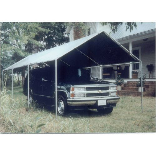 Car Canopy, Portable w Silver Top by King Canopy. $229.98. The standard silver cover carries a one-year, limited warranty. Side Height: 5 ft. 10 in.. Provides protection for vehicles against sun and rain. 10 ft. 8 in. W x 20 ft. L. Strong, portable and affordable. Strong, portable, and affordable, this well-made car canopy has a standard silver cover which carries a one year limited warranty. It provides protection for vehicles against the sun's finish-ruining r...