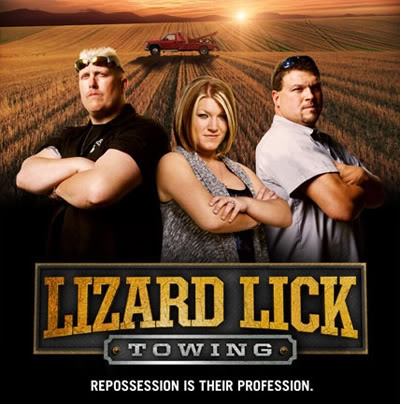 Lizard Lick Towing - my boys find this show fascinating!