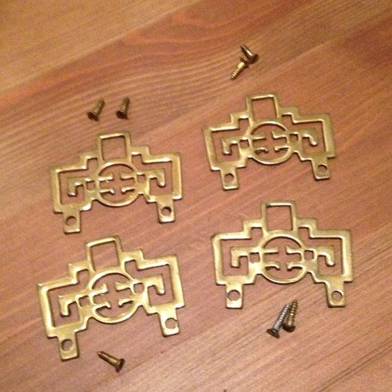 Add These Brass Asian Hardware Pieces To An By ShopWhiteRabbitVin, $18.00 |  HARDWARE | Pinterest | Hardware, Asian And Asian Bedroom Decor
