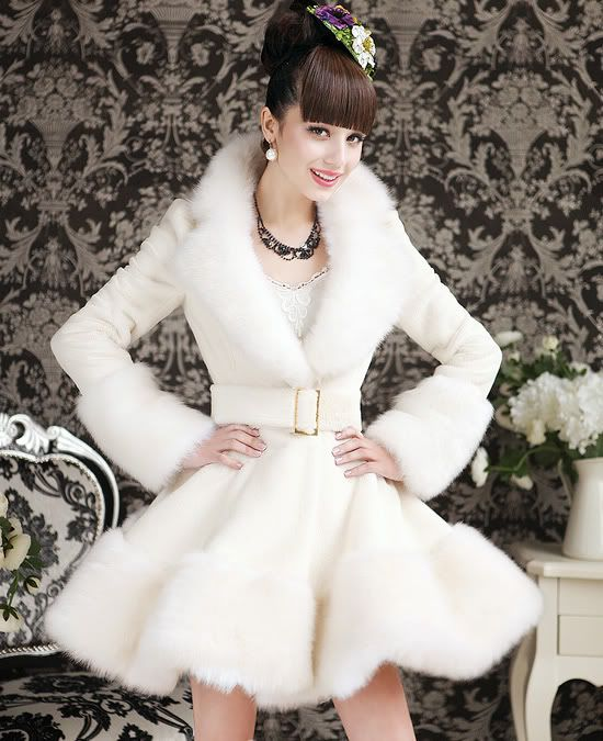 Best 20  Rabbit fur coat ideas on Pinterest | White fur coat ...