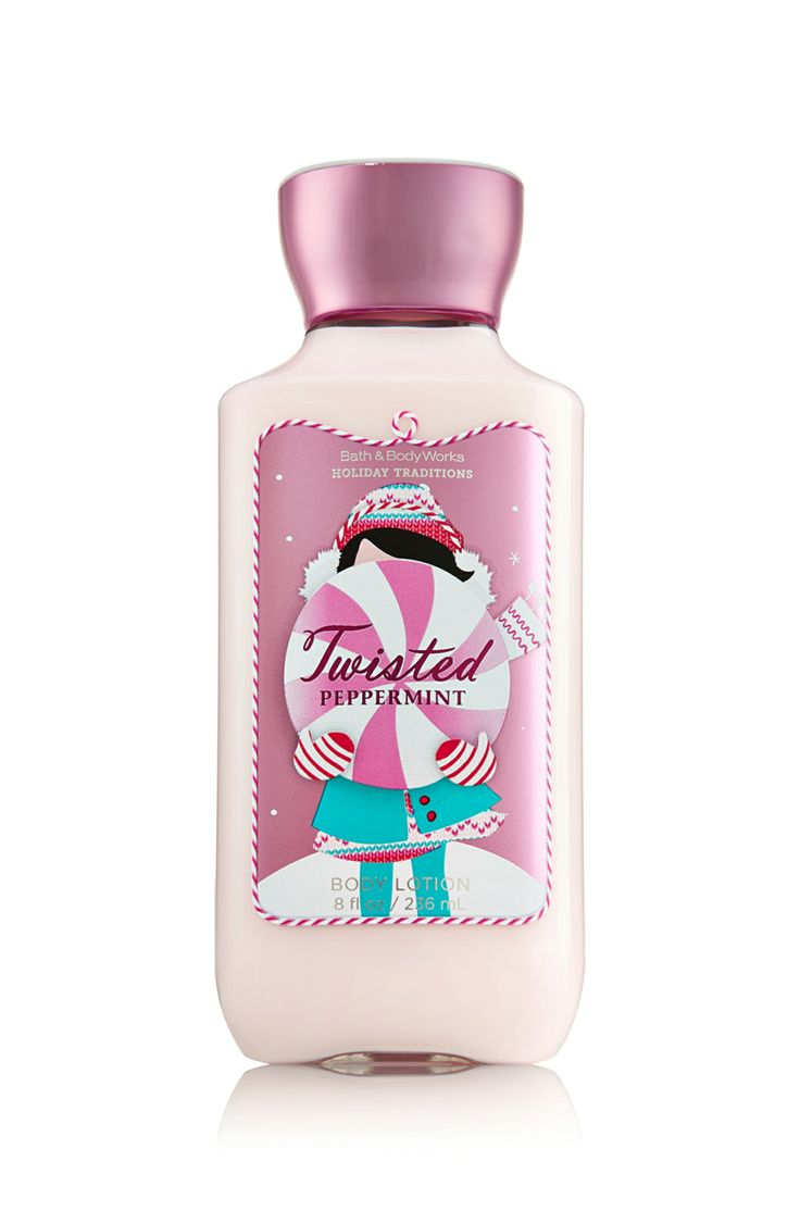 Bath and body works holiday scents - Twisted Peppermint Body Lotion This Is Also One Of My Faves From The Holiday Traditions Bath Body Worksbath