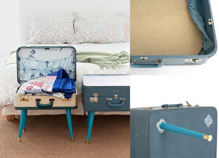 les 25 meilleures id es de la cat gorie table valise sur pinterest valise d cor valise. Black Bedroom Furniture Sets. Home Design Ideas