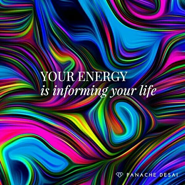 Your energy....