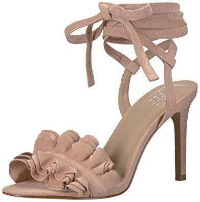 The Fix Women's Cantu Ruffle Ankle Wrap Dress Sandal Review