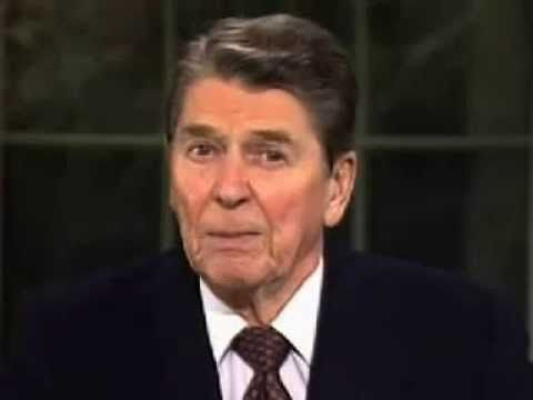 Obama: Don't Blame Me For Lack Of Trust In Government, It's RONALD REAGAN'S Fault!