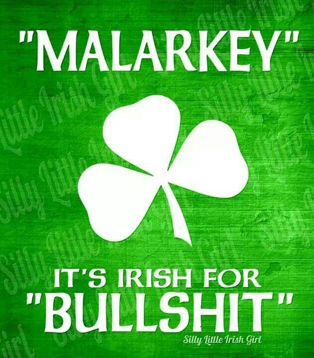 Swear like an Irishman