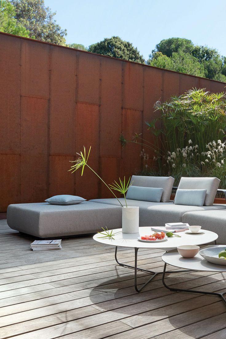 large outdoor designer modern modular corner sofa in 2019 luxury rh pinterest com