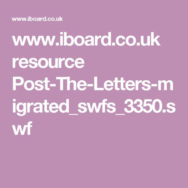 www.iboard.co.uk resource Post-The-Letters-migrated_swfs_3350.swf