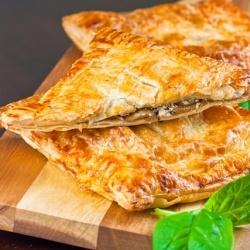 #121512 - Mushroom Spinach Feta Pie By TasteSpotting