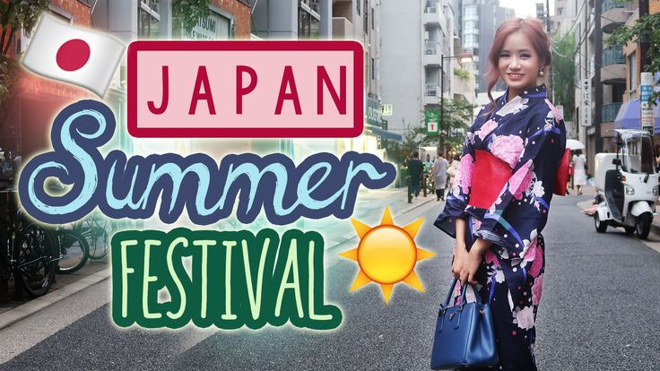 KimDao goes to a Japanese Summer Festival with Bronwyn!